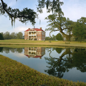 2001 : Drayton Hall, Charleston SC. This reflecting pool has been there since the 1700's.