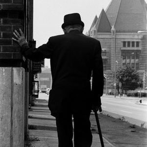 1970 : With Age Comes. I was in St Louis looking for people on the street and this man walked slowly past and I took a timeless picture.