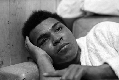 1973 : Muhammad Ali at  Deer Lake