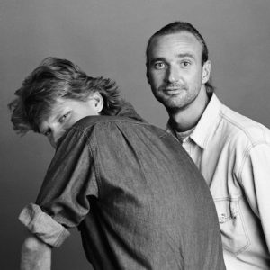 1987 : John & Tim, Laid Back. Many portraits were made for a record cover. Vesterbro