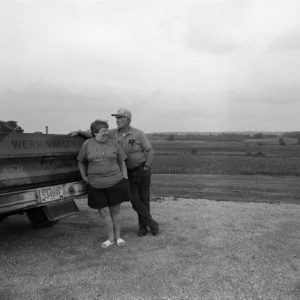 1995: Dave & Betty Williams, Wern Valley Farm, Waukesha Co, WI. They did everything they could to save their farm.